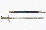 Прусский тесак обр. 1852 г., кожанные ножны photo 3