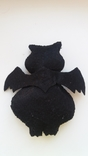 Вампир летучая мышь мягкая игрушка из фетра, фото №3