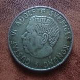 1 крона 1953  Швеция серебро   (М.7.9)~, фото №3