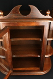 Навесной шкафчик. Витрина. Винтаж. Разборной. Европа. (0858) photo 8