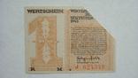 Германия Вермахт 1 марка 1943