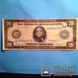 20 долларов сша 1914 г