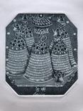 "Надежда Пономаренко, Графика , "" Exl.Казаковой Наталии"",1978р photo 1"