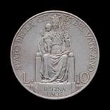 10 Лир 1930 Пий ХІ, Ватикан