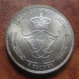 5 крон 1960 Дания  серебро   (М.9.19)~, фото №2