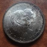 5 крон 1960 Дания  серебро   (М.9.19)~, фото №5