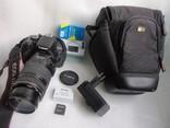 Фотоаппарат Canon EOS650D, объектив EF 70-300mm 1:4-5.6 IS USM