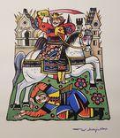 Оригинал картина ксилография Масютин Василий Николаевич (1884-1955)
