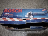 Болгарка Bosch GWS 8-125 photo 1