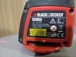 Лазерный уровень Black Decker BDL120 photo 3