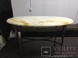 Мраморный стол винтажный