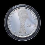 2 Доллара 2004 Футбол, Фиджи