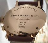Часы хронограф EBERHARD & Co Extra-fort , золото 750 проба photo 2
