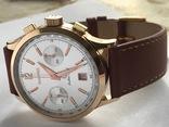 Часы хронограф EBERHARD & Co Extra-fort , золото 750 проба photo 3