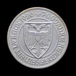 3 Марки 1926 700 лет статусу свободного города Любека, Германия
