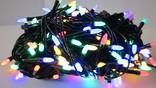 Новорічна гірлянда Конус-рис LED на 200 лампочок. Новогодняя гірлянда.