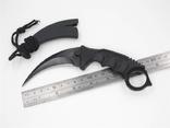 Нож тактический-черный коготь (karambit).Блиц. photo 3