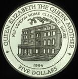 Фиджи 5 долларов 1994 пруф серебро 20 грамм