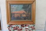 Старая картина, фото №2