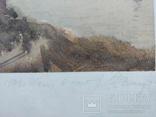 """Одесса, 1978г,""""Вход в порт"""", подпись, бумага, акварель, фото №4"""