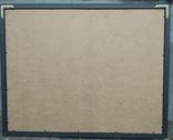 """Одесса, Е.Рахманин """"Абстрактный пейзаж"""", бумага, акрил, 62*82см в раме под пластиком, фото №3"""