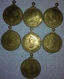 7 медалей Адмирал Нахимов (лот 6). копии
