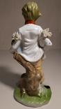 Фарфоровая статуэтка Мальчик., фото №5