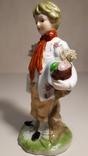 Фарфоровая статуэтка Мальчик., фото №7