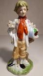 Фарфоровая статуэтка Мальчик., фото №8