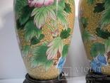 Пара ваз Клуазоне, фото №6