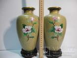 Пара ваз Клуазоне, фото №10