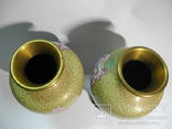 Пара ваз Клуазоне, фото №12