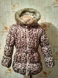 Куртка теплая H&M на рост 110(3-4 года)