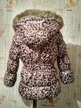 Куртка теплая H&M на рост 110(3-4 года), фото №10