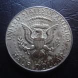 50  центов 1964 США серебро     (Ч.4.4)~, фото №4