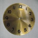Латунний циферблат Kienzle підлогового Ø 29,5см, фото №2