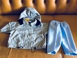 Комплект: куртка-ветровка, брюки, новый, фото №3