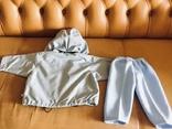 Комплект: куртка-ветровка, брюки, новый, фото №4