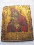 """Икона Богородица """"Почаевская"""" 22 х 26,6 х 1 см."""