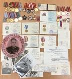 Комплект: Ленин № 121668, БКЗ-2 № 22404, КЗ, БКЗ и медали.