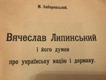 1925 Думки про Українську Націю і Державу