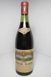 Вино Macon Rouge 1964 год