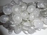 Новорічна гірлянда на 40 лампочок. Гірлянда для декору. photo 10