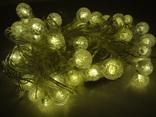 Новорічна гірлянда на 40 лампочок. Гірлянда для декору. photo 11