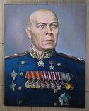 Маршал Тимошенко Семён Константинович, Холст масло 50х40см