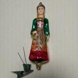 Елочная игрушка Хозяйка Медной горы, прищепка