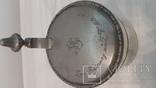 Пивная кружка 1913год дарственная надпись + монограмма Австрия\Германия
