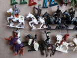 Пластмассовые фигурки рыцарей, фото №10