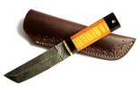 Танто. Нож. Дамасская сталь
