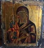 Икона троеручица, первая половина 19 века, русская школа.